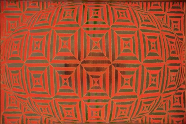 Claudia Perez Pavon - El ojo y el espiritu (back side) - 50 x 70 cm - 2012