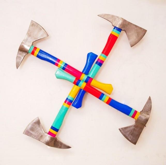 Nick Schnitzer - Samsara wheel - kinetic sculpture